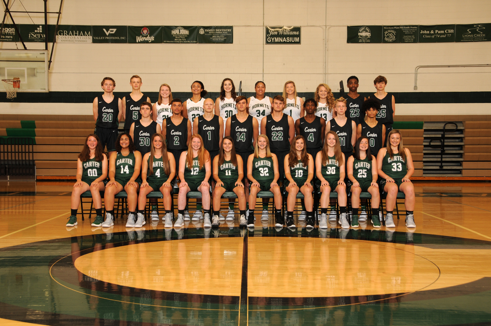 Carter Basketball teams to participate in Anderson Co. HS Christmas Tournament