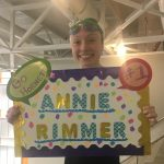 Carter's Annie Rimmer wins KISL 100 yard Freestyle and Backstroke