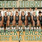 Hornets flip the switch and beat Union Co in OT to win the District 3AA Championship 84-74