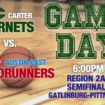 Hornets play in the Region 2AA Semfinals tonight at 6:00pm at Gatlinburg-Pittman