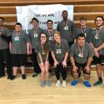 Hornet Volleyball Special Olympics take center stage!