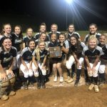 Varsity Softball falls to Gibbs 9 – 2 in District Championship.