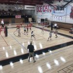 Girls Varsity Volleyball beats Central 3 – 0