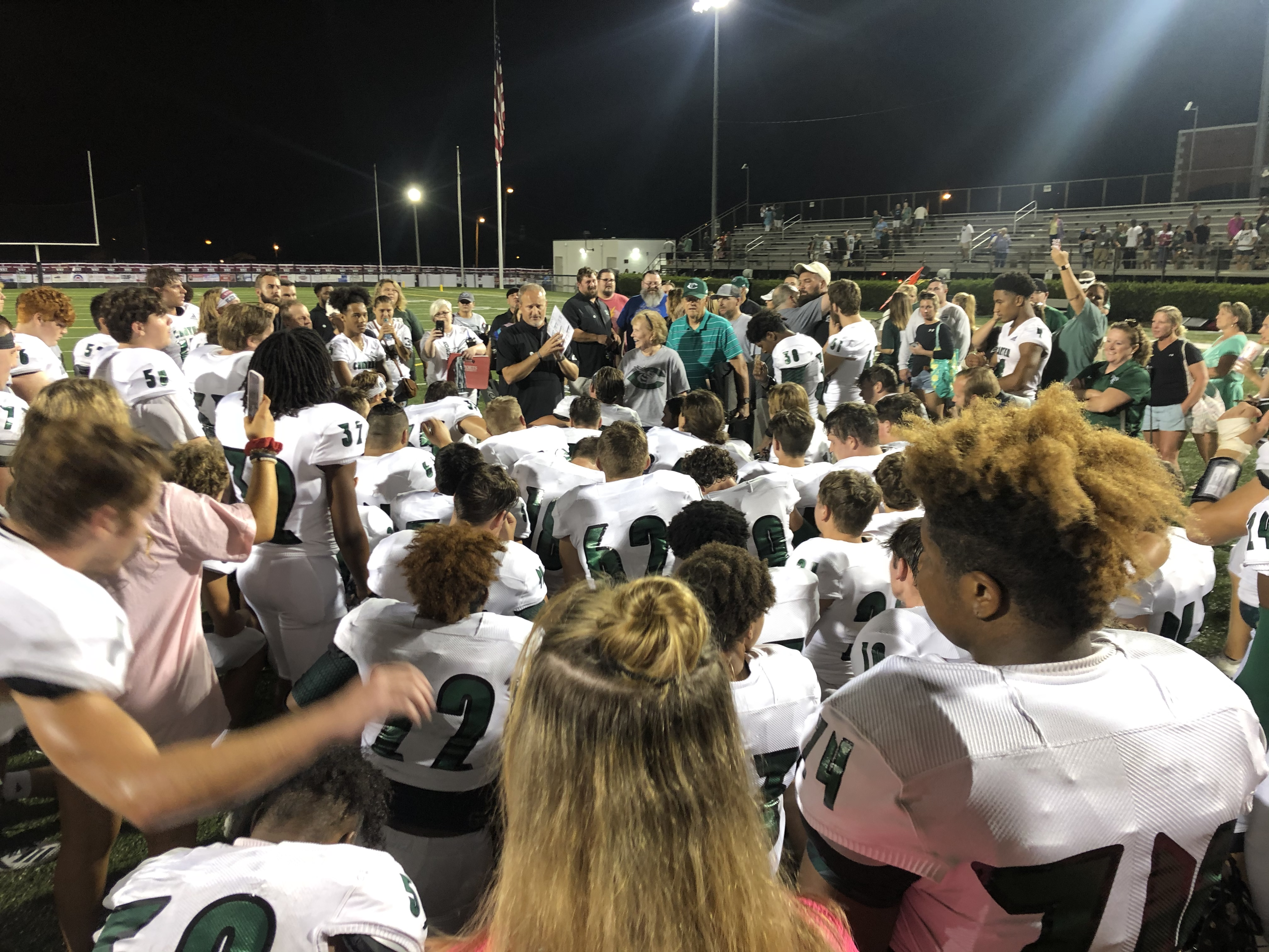 Recap: The Morristown Miracle…Hornets erase a 21 point 4th Quarter deficit to shock Morristown West 27-21 in OT