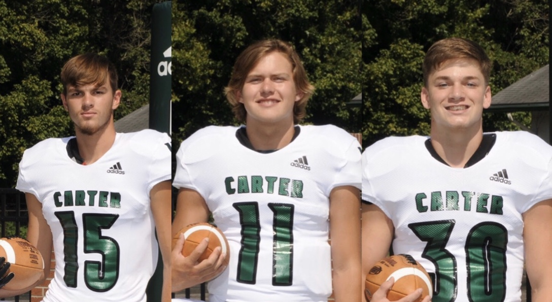Hornet Football Players nominated for Player of the week @carterhsfb