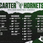 2019-2020 Basketball Schedule