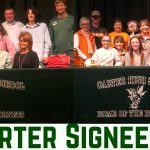 Carter's Emory Chamberlain signs with Roane State and Annie Rimmer sign's with the University of Tennessee!