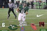 Varsity Football falls to Central 14 – 6