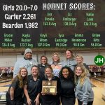 Lady Hornets capture the TSSAA District 4 Bowling Championship over Bearden 20-7!