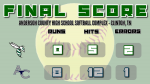 Varsity Softball falls to Anderson County 8 – 0