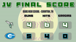 Junior Varsity Softball falls to Gibbs 5 – 4