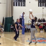 Abby Stein notches 7 kills, in loss to Westchester