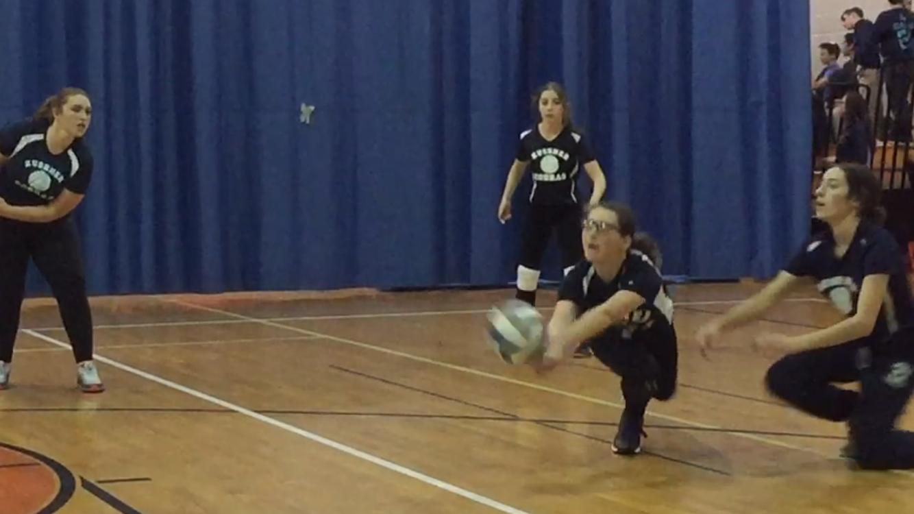 Girls Volleyball Nab 1st Kushner win of day on busy Kushner Sports Night