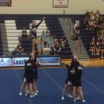 Ovid-Elsie High School Girls Varsity Competitive Cheer finishes 2nd place