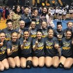 Girls Varsity Competitive Cheer finishes 1st place at CCCAM Scholarship Invite at Mt. Pleasant
