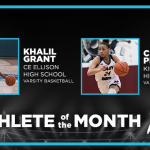And the December Athlete of the Month Winners are…