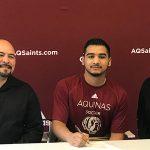 Quaker Senior Signs With Aquinas