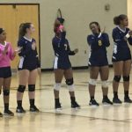 Lady Quakers Battle Tough on Senior Night