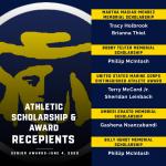Athletic Scholarship & Award Recipients