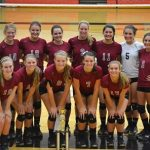 Lady Panthers Volleyball Team, 2015 County Champs
