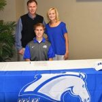 Hunter Nails Signs Cross Country Scholarship with UAH