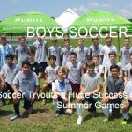 Boys Soccer Tryout a Success
