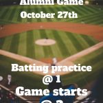 Southside Alumni Baseball Game October 27th
