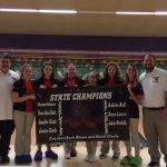Girl's Bowling Hangs Banner, Then Breaks Record