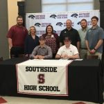 Mason McGlaughn & Connor Johnson Sign Baseball Scholarships