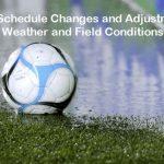 Soccer Games Rescheduled