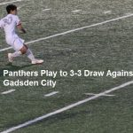 Boys Soccer Comes from Behind for 3-3 Draw Against Gadsden City