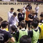 Junior Varsity Soccer Teams Open Home Season in Strong Fashion