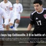 Panthers Defeat #2 Collinsville, 3-0