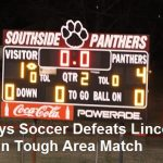 Boys Soccer Takes Sole  Possession of First in Area