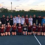 Tennis Shines on Senior Night