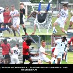 Boys Soccer Finishes Camp with Strong Playdate Performance