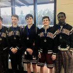 Wrestling Team Places in Mortimer Jordan Tournament