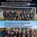 Panthers Soccer Ends Season Ranked #1 in State