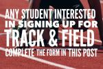 2021 Track & Field Sign Up Form