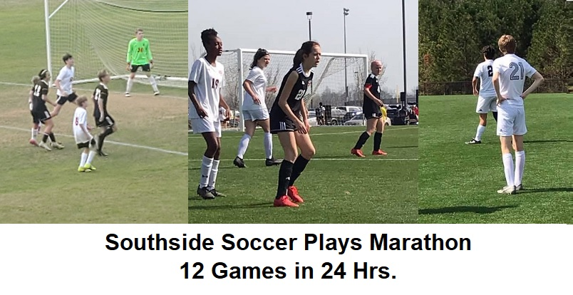 Soccer Plays Marathon Weekend