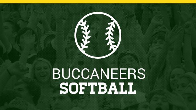Lady Bucs Softball Schedule 2020