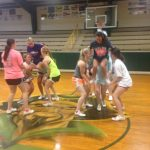 Varsity Cheerleaders Prepping for a Great Year