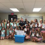 Buccanettes and Treasures Thank Local Law Enforcement