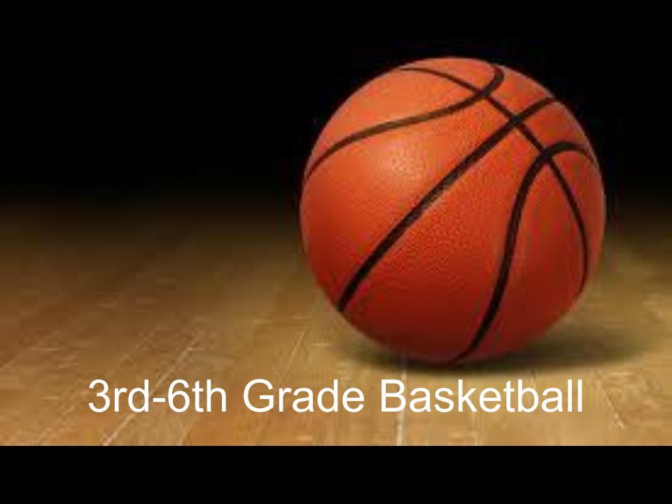 Biddy Basketball Schedule