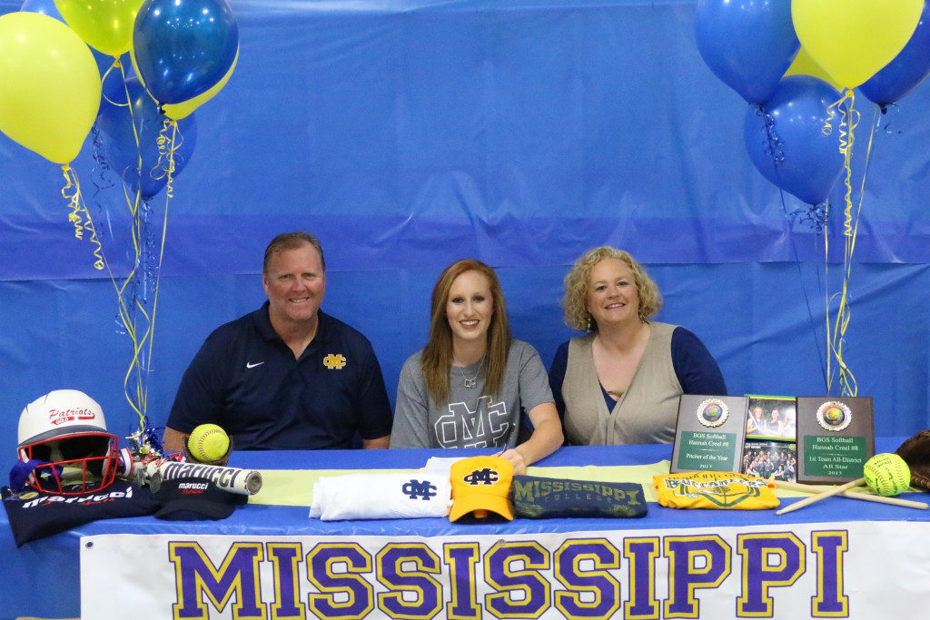 Hannah Creel Signs With Mississippi College