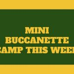 Mini Buccanette Camp This Week