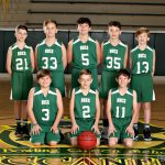 2020 PeeWee Basketball Team Photos