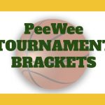 PeeWee Tournament Brackets