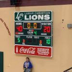 Lady Bucs Defeat Columbia Academy