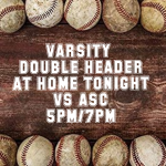 Varsity Double Header Tonight